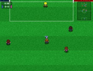 Capture d'écran du jeu Sexy Football