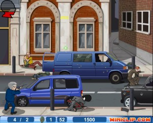 Capture d'écran du jeu Bush Royal Rampage
