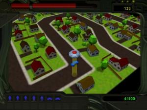 Capture d'écran du jeu Alien Abduction