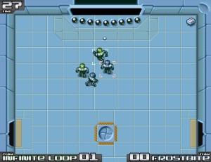 Capture d'écran du jeu Toonami Arena
