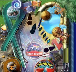Capture d'écran du jeu Spinball Whizzer
