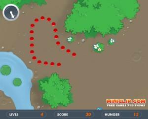 Capture d'écran du jeu Snake