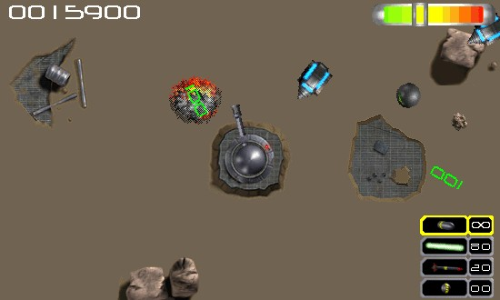 Capture d'écran du jeu Delirium