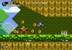 Capture d'écran du jeu Ultimate Flash Sonic